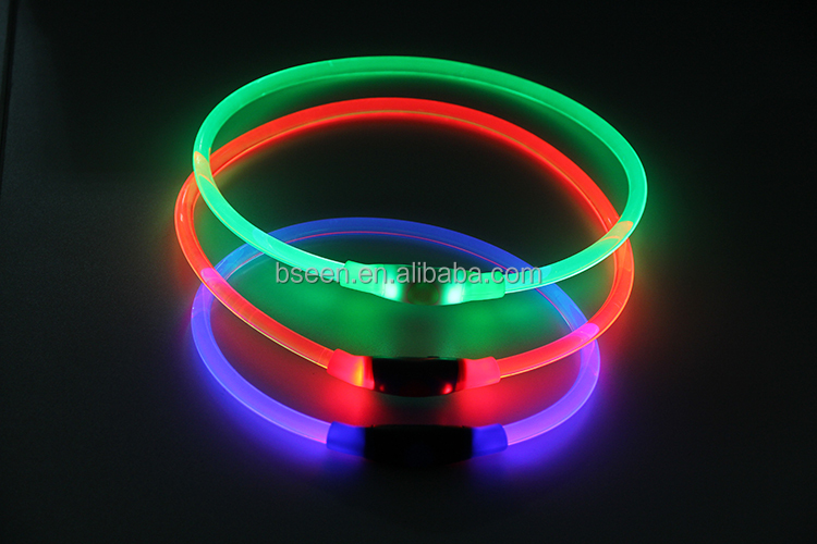 New Electronic Gadgets Puppy Collar Flashing Night Pet Products LED Dog Collar