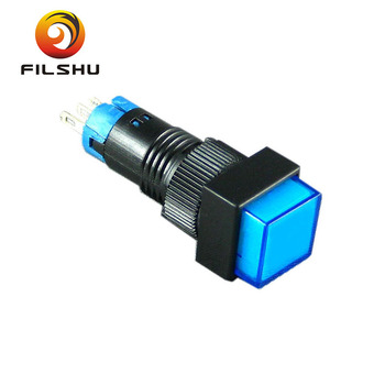 High Quality 16mm Ip40 Mini Led Light Small Push Button Switch Buy Mini Led Light Push Button Led Light Bar Rocker Switch Single Pole Single Throw
