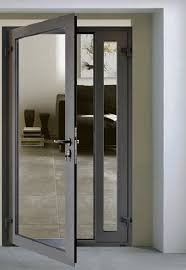 새로운 디자인 강화 유리 알루미늄 사무실 입구 유리 문 Buy 사무실 입구 유리 도어 알루미늄 사무실