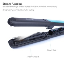High Quality Steam Hair Straightener With Factory Price Custom Flat Irons With Private Label