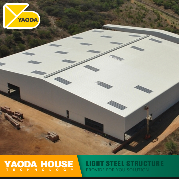 Australian standard industrial pre fab warehouse arch auto parts steel structure buildable prefabricated warehouse