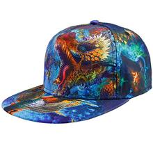 Groothandel Custom All Over Print Platte Brill <span class=keywords><strong>Draak</strong></span> jongen Snapback cap