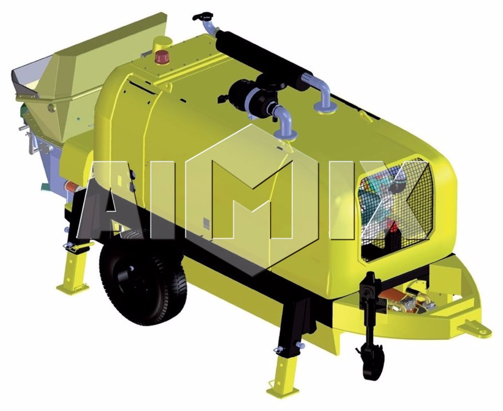 Diesel 80m3 concrete pump in pakistan concrete pump dimensions cost