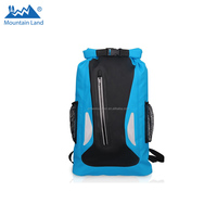 Waterproof Bag Two Additional Pockets Backpack for Kayaking, Beach, Rafting, Boating, Hiking,