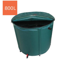 500L collapsible rain barrel portable water barrels