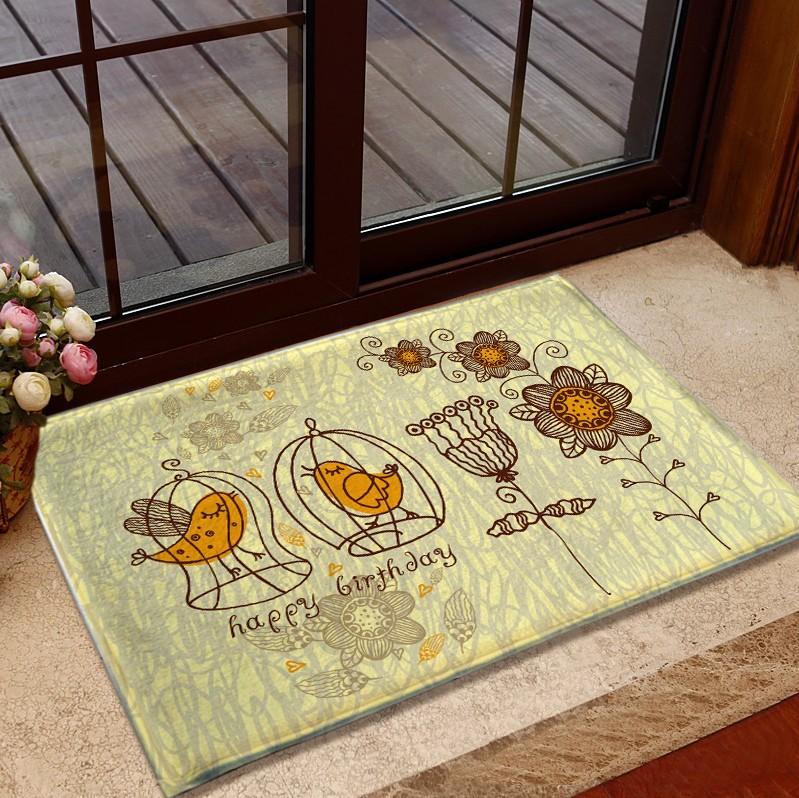Vintage Home Kitchen Carpet Floor Mat Long Area Rug For