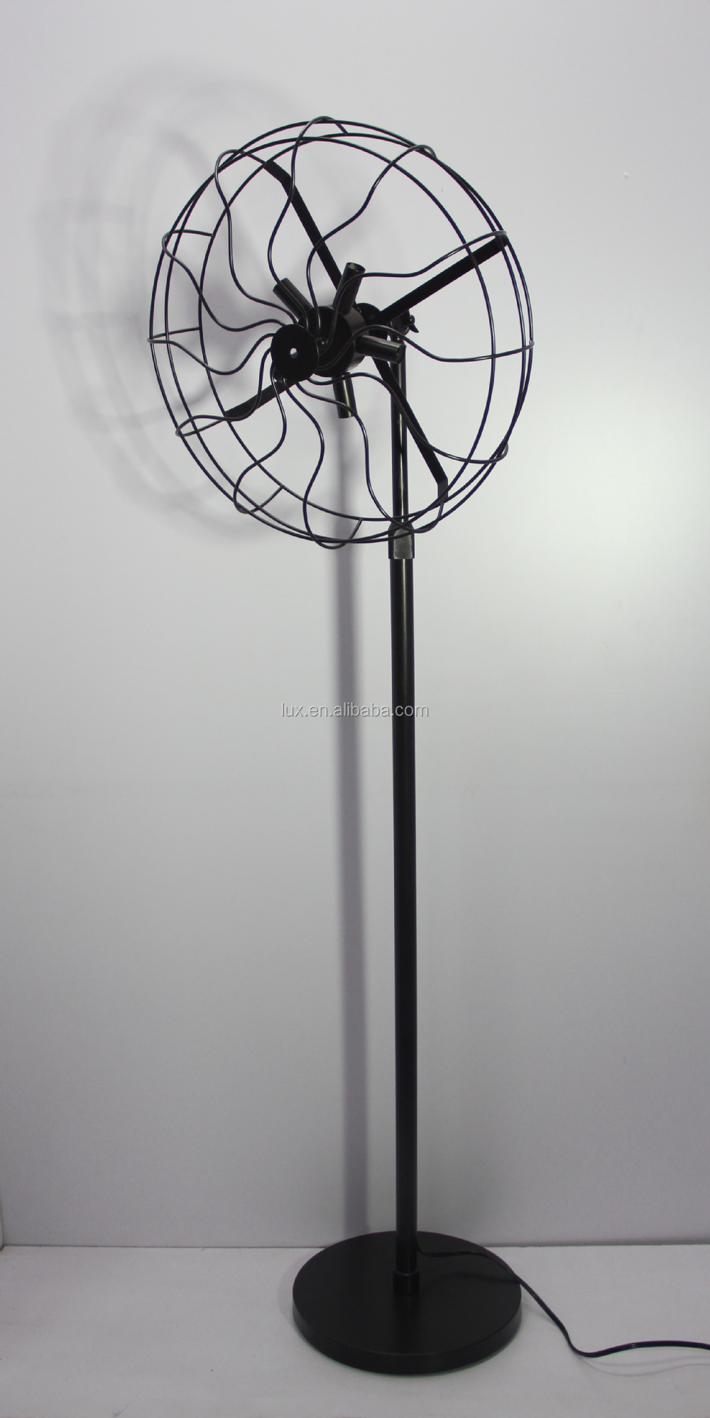 Meget Industrie Ventilator Vintage Stijl Loft Statief Vloerlamp Voor Het BZ63