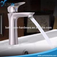 Made in China brushed nickel bathroom faucet