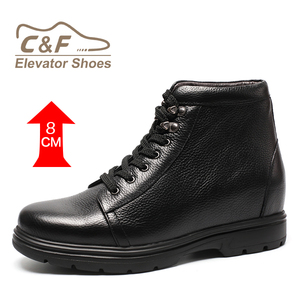 new product mens wrinkled leather boots genuine leather shoes For men
