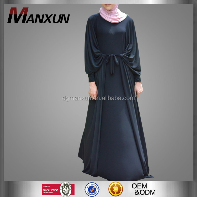 New Design Women Black Butterfly Abaya Dubai Confortable Loose Dubai Butterfly Abaya
