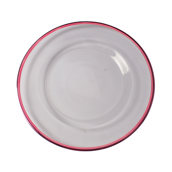 Wholesale Colored Charger Plate Cheap Glass Dinner Plates Buy