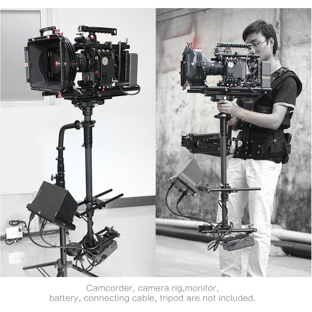 Hot Selling LAING M30PII Carbon Fiber Sled Video Camera Steadycam Stabilizer