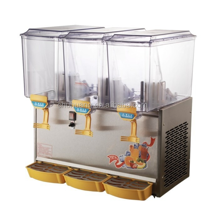 Commercial Use 17L*3 Double Cold&Hot Drink Machine/Frozen Drink Machine