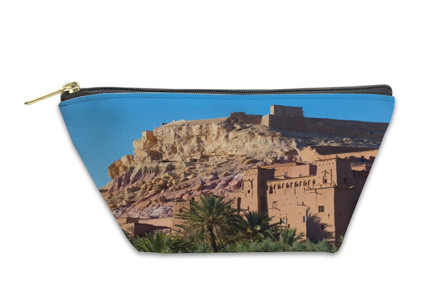 Gear New Accessory Zipper Pouch, Ancient City Of Ait Benhaddou In Morocco, 5995660GN