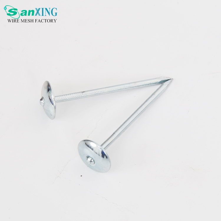 Factory Free Sample Galvanized Umbrella Twisted Roofing Nails
