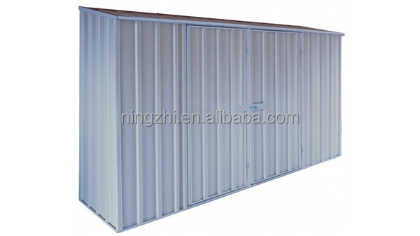 8 x 6 Yard Shed / Medium Garden Shed / Metal Kit - Outdoor Storage