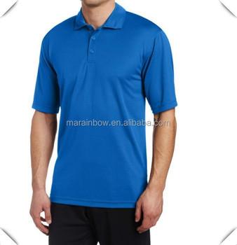 61f47de2c3e Liso de color azul golf polo diseño camisa para hombres de hecho con alta  calidad genial