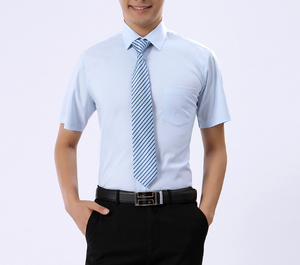 men's and women's dress shirt bank train office workwear uniforms