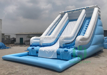 Top selling new style PVC inflatable used swimming pool slide, water slide for people