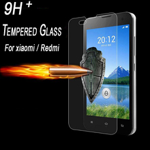 Ultra-thin 2.5D 9H Tempered Glass Screen Protector HD Protective Film for Xiaomi 2 3 4 4C Xiaomi Redmi note 2 1S 2 2A 2S