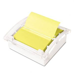 Post-it Pop-up Notes Products - Post-it Pop-up Notes - Clear Top Pop-up Note Dispenser for 3 x 3 Self-Stick Notes, White - Sold As 1 Each - Provides continuous dispensing of Post-it Pop-up notes for easy use. - Desktop design keeps your workspace neat and organized. - Includes one 50 sheet pad in