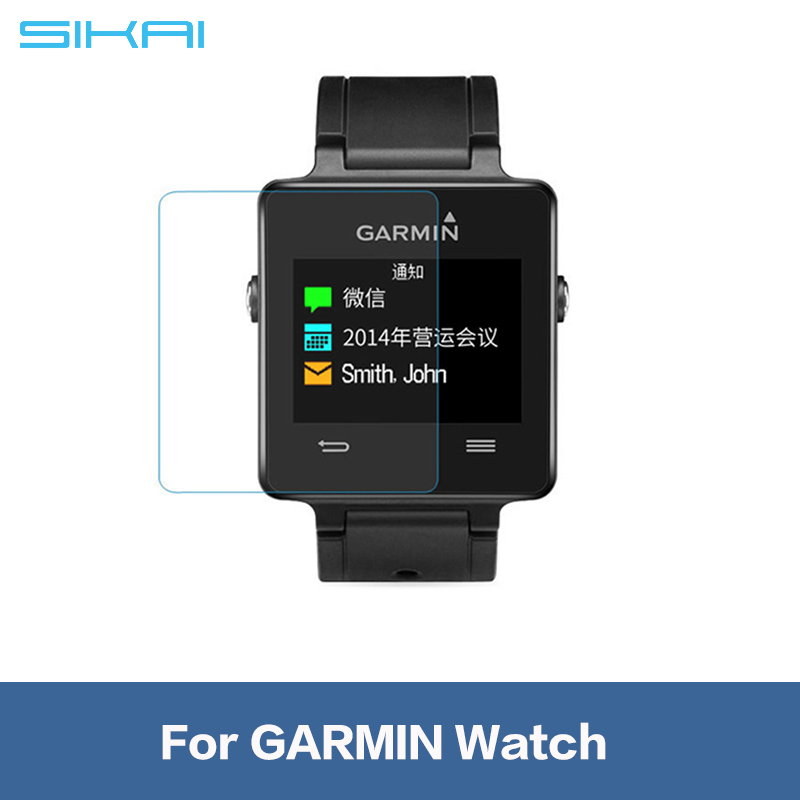 Wholesale Anti-scratch Tempered Glass Screen Protector For Garmin GPS Running Watch Protective Watch Film For Garmin Sport Watch