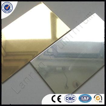 Alucobond / Acm / Acp / Silver Mirror Finish Aluminum