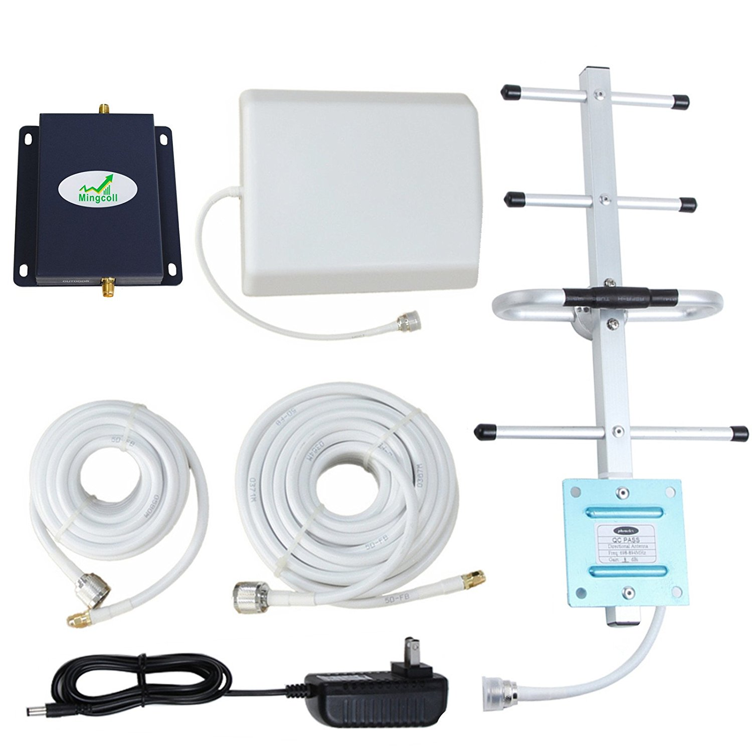 Mingcoll Verizon Cell Signal Booster 700MHz Band 13 4G LTE Mobile Cell Phone Signal Booster Amplifier (BV70-7B8)