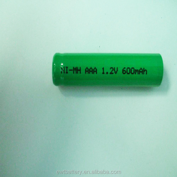 New Nimh Battery Aaa 600mah 12v Ni Mh Rechargeable Battery For