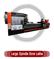 Large Spindle Bore Lathe