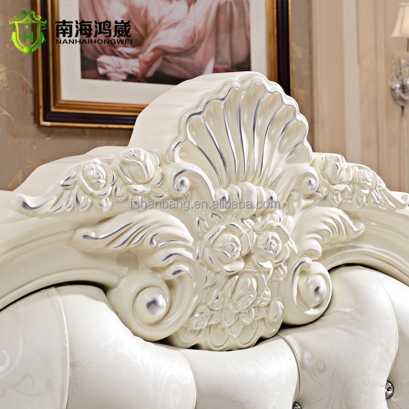 Antique Luxury Rococo European Baroque Bed French Provincial