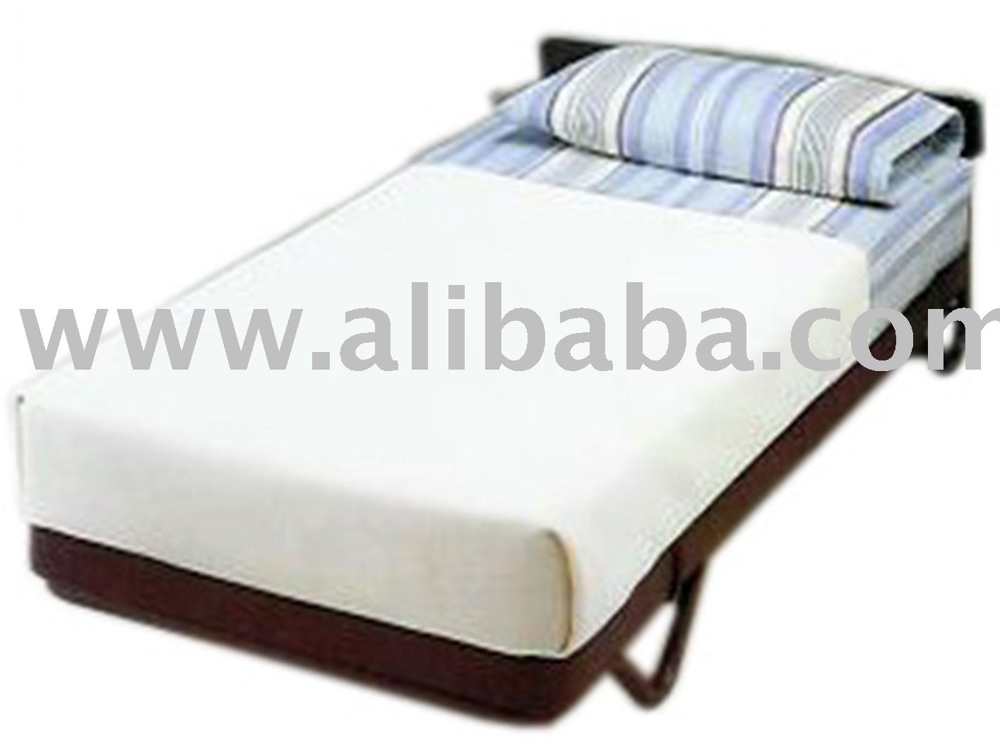metal mattress with bed single black frame p ikayaa duzn rollaway folding wood