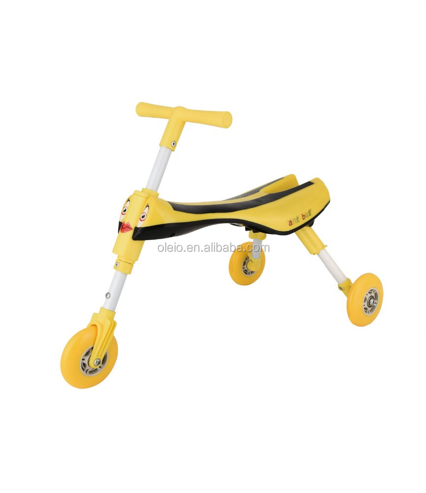 Combination price Folding Children Gold-fighterbugTrike cock Toddler 3-Wheel Safe cock