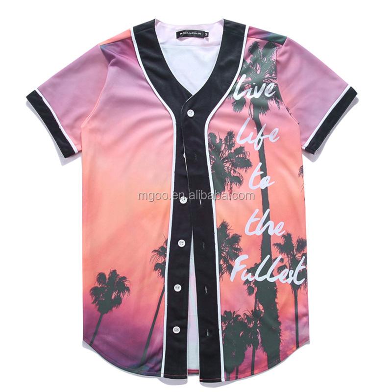 Venta caliente del precio barato botón jersey de béisbol Malasia fútbol  Universidad diseño uniforme e76bd44a5a58d