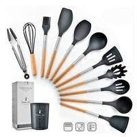 12 Piece Kitchen Utensil Set With Combined Handle And Holder SW-CT196B