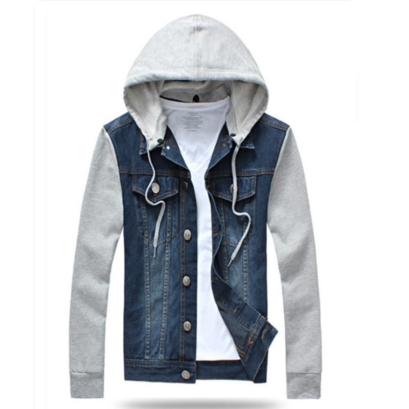 Cheap Denim Jean Jacket With Hooded, find Denim Jean Jacket With ...
