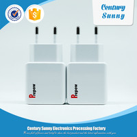 Professional manufacturer wholesale dual ports output 5v usb charger