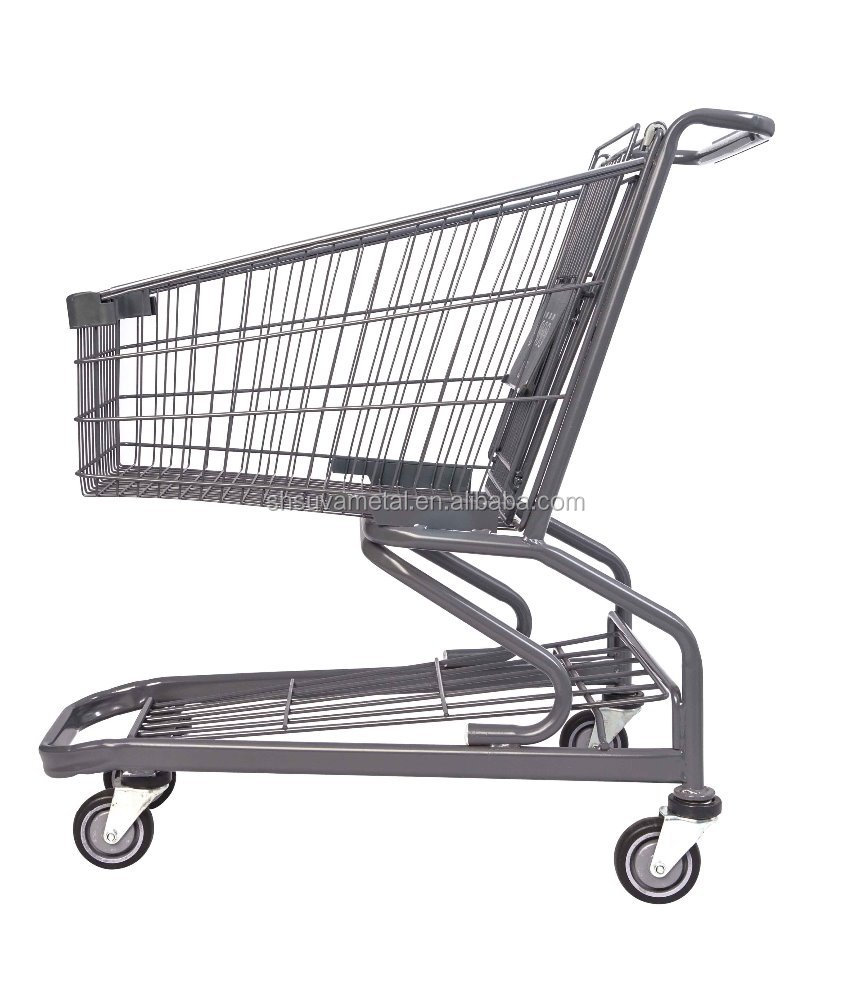 Supermarket trolley,shopping mall trolley, shopping carts