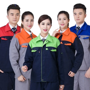 Mechanic safety work wear construction uniforms clothing factory