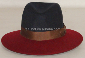 fcbf50a0ed6 Black And Red Fedora Hats