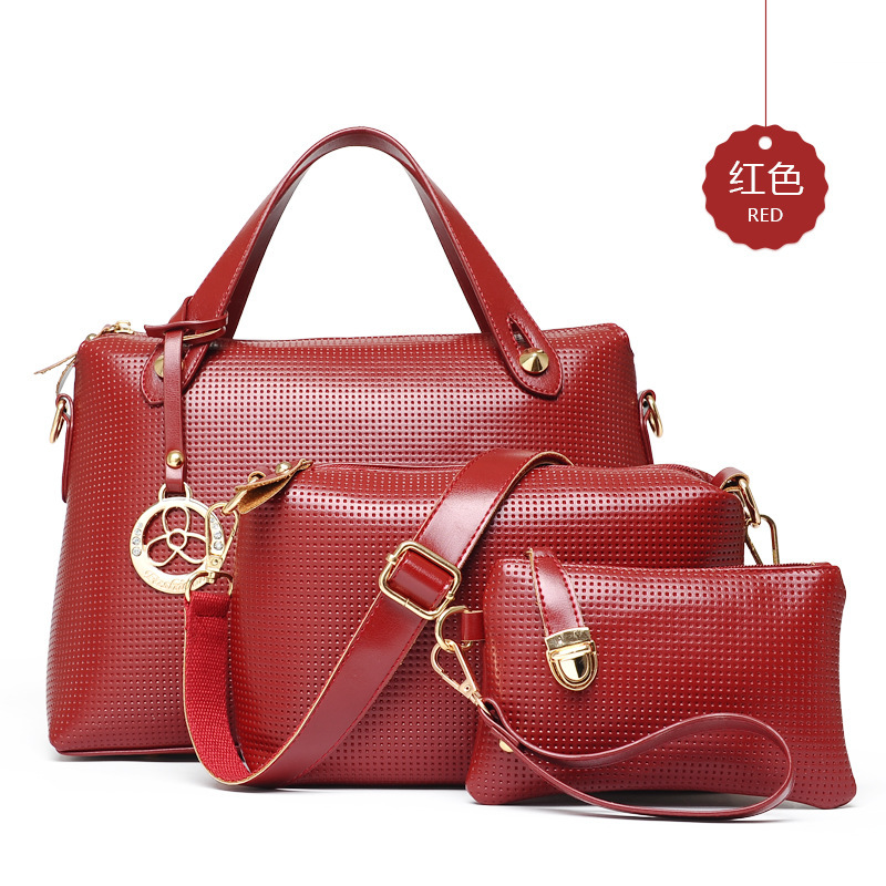 Retro Embossed Composite Bags Fashion Women Single Shoulder Messenger Bags Free Shipping [C1041]