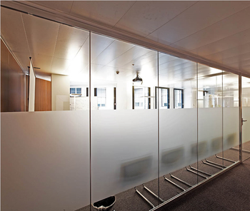 Temporary Office Separation E Gl Parions Free Standing Wall Divider