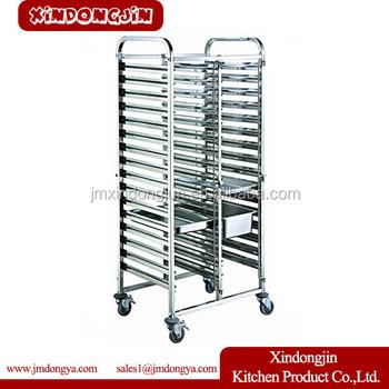 Tr2-16a Bunnings Trolley,Defrost Tray Trolley,Bakery Cooling Rack Trolley -  Buy Glass Rack Trolley,Defrost Tray Trolley,Bakery Cooling Rack Trolley