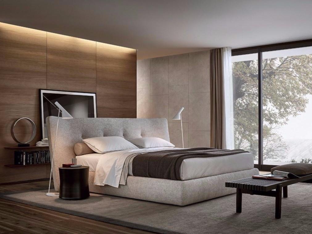 Euro Modern Desain R Tidur Furniture Set Mewah King Size Bed Divan