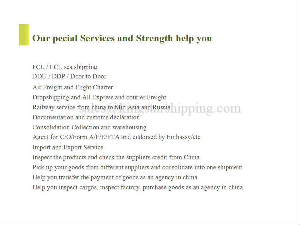 Freight Forwarder Company In China To Sharjah Uae From China For ...