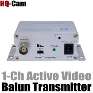 ACTIVE 1 CH BALUN TRANSMITTER/RECEIVER TRANSMIT A VIDEO