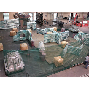 Best price Inflatable Bunkers Paintball / Inflatable Paintball Obstacle / Inflatable Paintball Arena