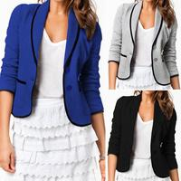 WM01 Europe all-match cardigan 2016 women long sleeved casual fashion jacket for woman