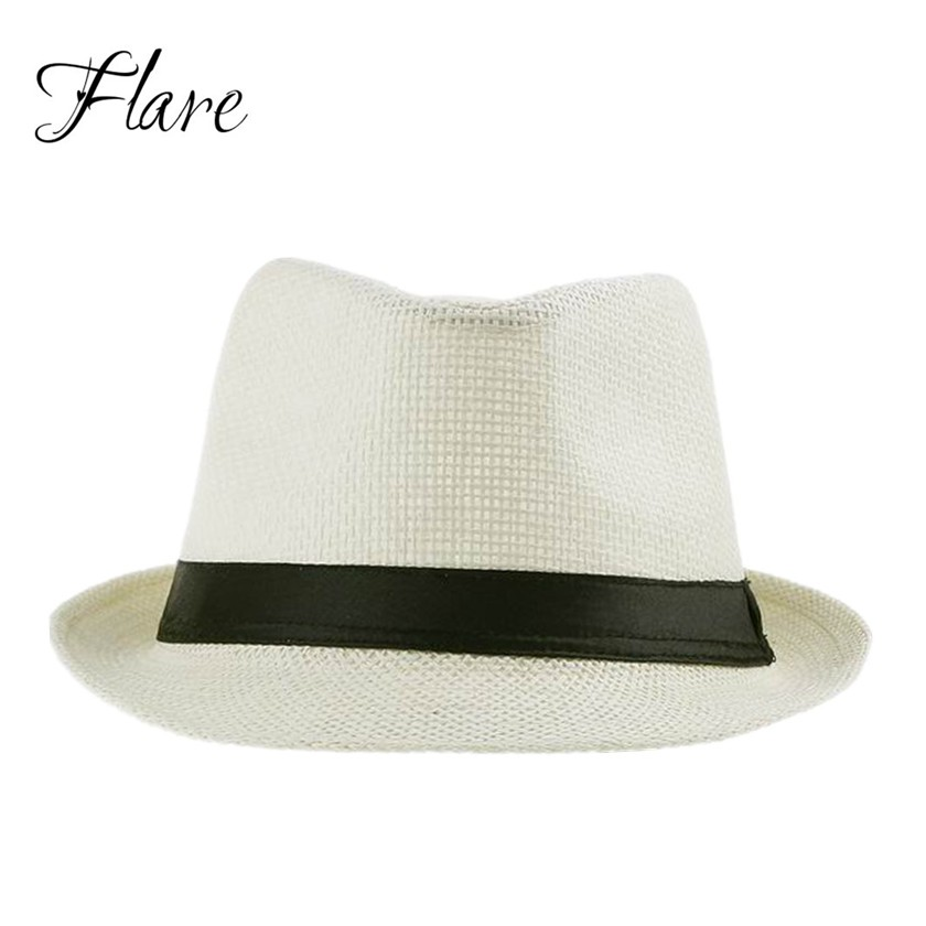 2015 Hats for Women Men White Fedora Trilby Gangster Cap ...