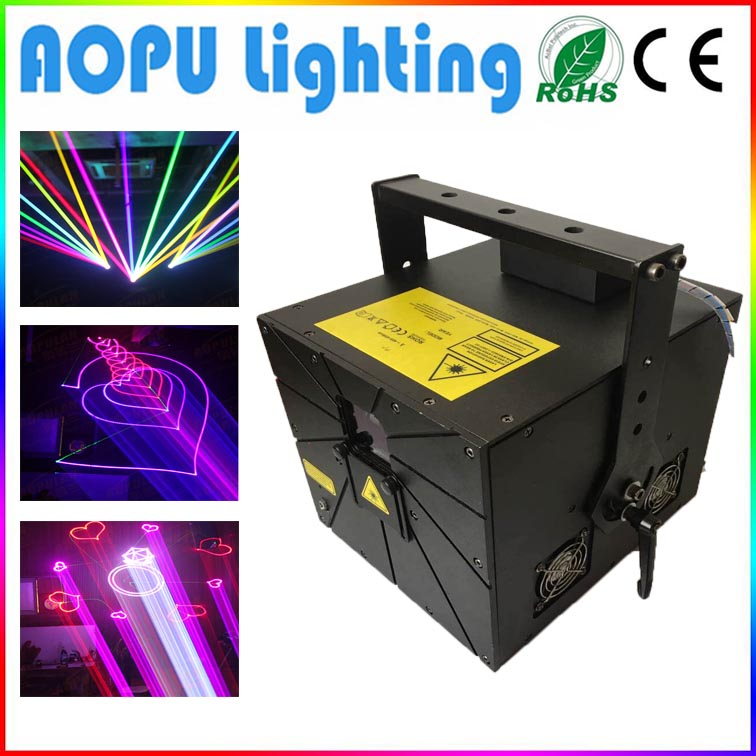 1W 2W 3W 4W 5W rgb laser for programme club stage dancing full color laser light